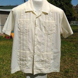 The Havanera Co Button Down Short Sleeve Shirt
